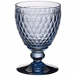Villeroy and Boch Boston Colored Blue Goblet 14 0z