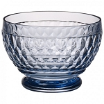 Villeroy and Boch Boston Colored Blue Individual Bowl 4 3/4 Inch