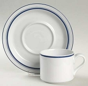 Dansk China Bistro Blue Saucer