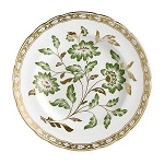 Royal Crown Derby Derby Panel Green Accent Plate, 8 in.