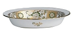 Royal Crown Derby Derby Panel Green Open Vegetable, 8 in.