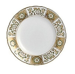 Royal Crown Derby Derby Panel Green Salad Plate, 8 in.