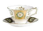 Royal Crown Derby Derby Panel Green Tea Cup