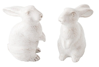 Juliska Spring Bunny Whitewash Salt And Pepper Set