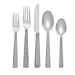 Michael Aram Stainless Palm 5 Piece Place Setting