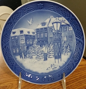 Royal Copenhagen 2018 Annual Plate