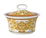 Versace Asian Dream 7 ounce Sugar Bowl, Covered