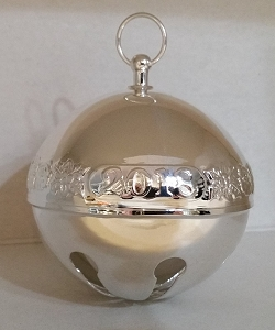 Wallace 2018 Silver Plate Sleigh Bell 48th Edition