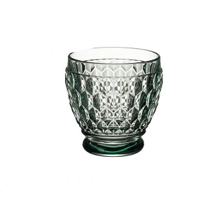 Villeroy and Boch Boston Colored Shot Glass : Green-Set of 4