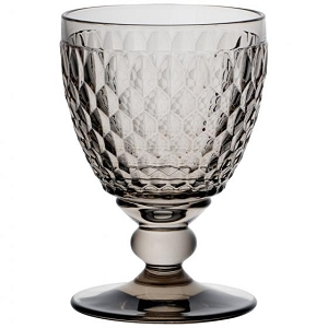 Villeroy and Boch Boston Colored Goblet : Smoke-Set of 4