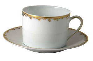 Bernardaud Capucine Tea Saucer Only