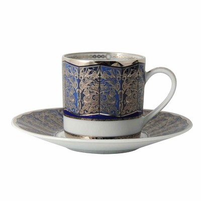 Bernardaud Eventail Blue Ad Cup Only Sp Order