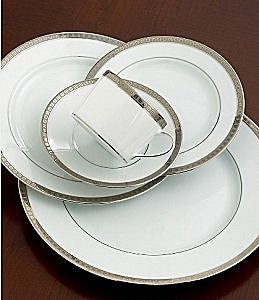 Bernardaud Athena Platinum 5 Pc Setting