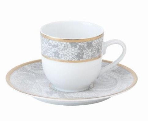 Philippe Deshoulieres Coquine coffee saucer