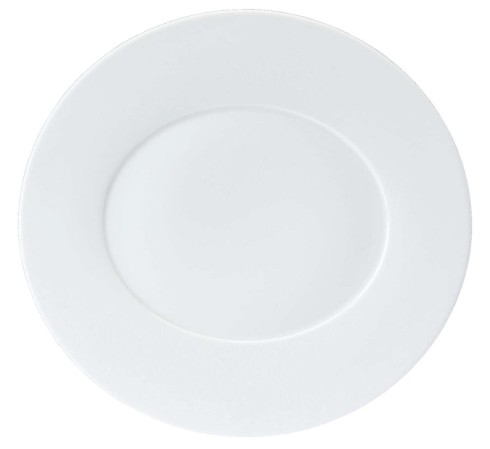 Philippe Deshoulieres Epure white Dinner plate