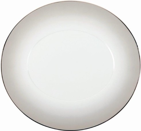 Philippe Deshoulieres Epure grey shade Dinner plate