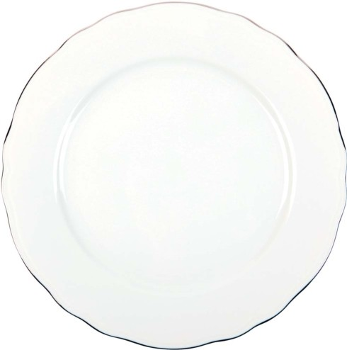 Philippe Deshoulieres Colbert white platinum filet presentation plate