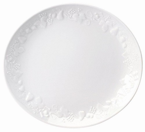Philippe Deshoulieres Blanc De Blanc big oval steak plate