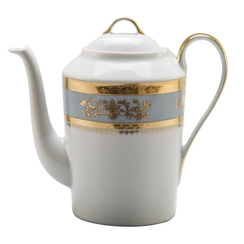 Philippe Deshoulieres Orsay powder blue coffee pot