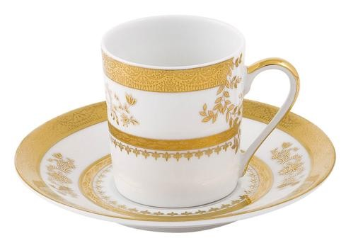 Philippe Deshoulieres Orsay white coffee saucer