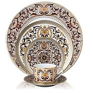 Bernardaud Boulle 5 Pc Setting