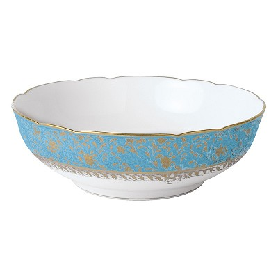 Bernardaud Eden Turquoise Salad Bowl - 10 In