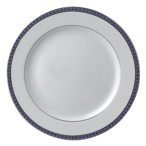 Bernardaud Athena Platinum Navy Salad Plate - 8.3 In
