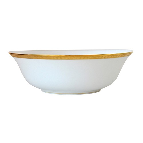 Bernardaud Athena Gold Salad Bowl - 10 In