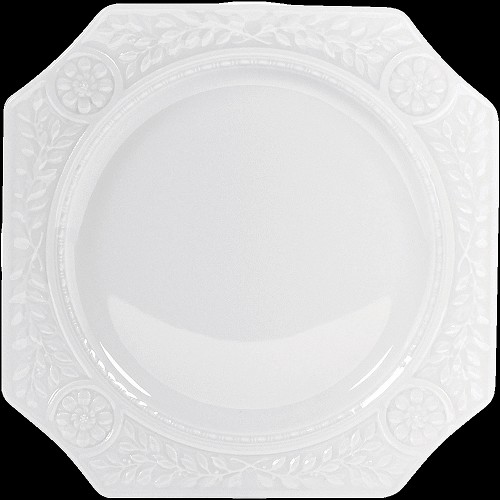 Bernardaud Louvre Hors-D'Oeuvres Plate - 9.3 X 9.3 In