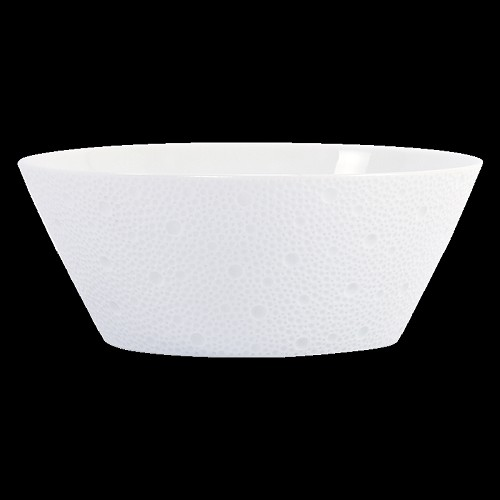 Bernardaud Ecume White Salad Bowl - 8 In