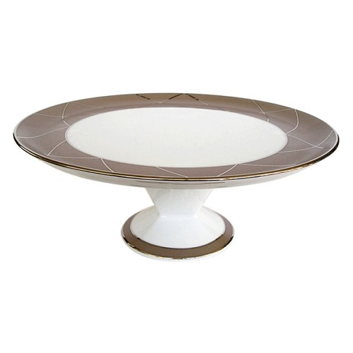 Haviland AURORE WITH ARCHES Footed Cake Platter
