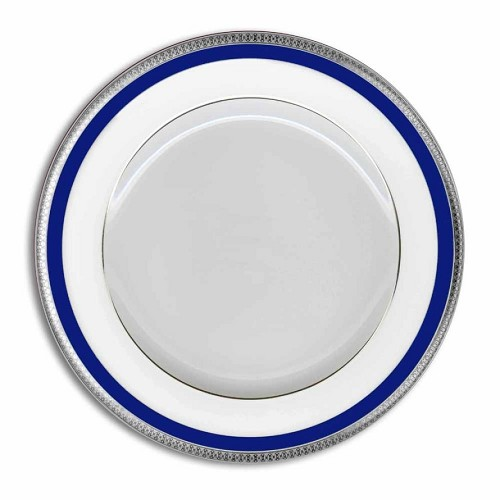 Haviland SYMPHONY PLATINUM AND BLUE Dinner Plate