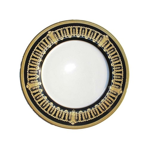 Haviland ST HONORE BLACK AND GOLD Bread & Butter Plate