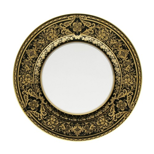 Haviland MATIGNON BLACK AND GOLD Dessert Plate