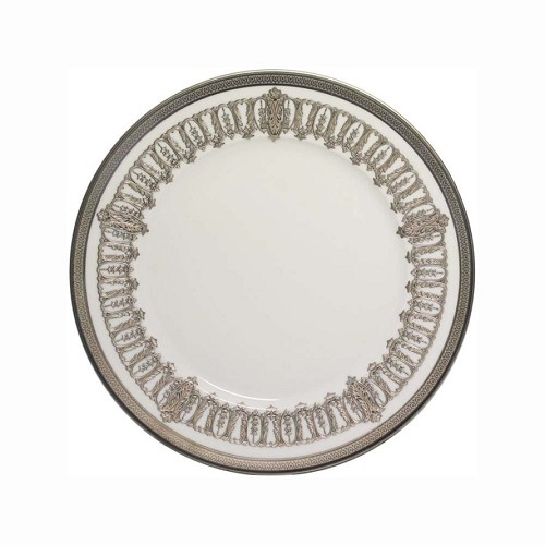 Haviland ST HONORE WHITE AND PLATINUM Bread & Butter Plate