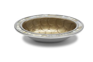 "Julia Knight Classic 8"" Oval Bowl Toffee"