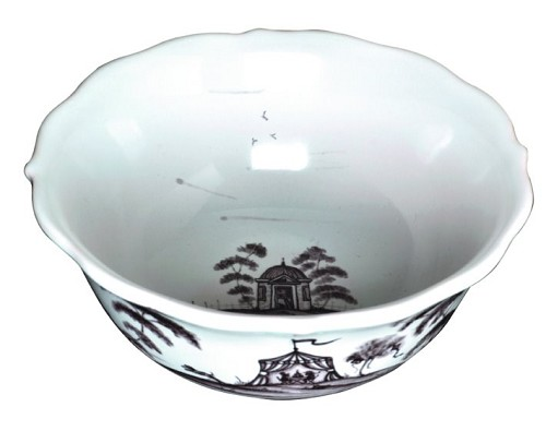 Juliska Country Estate Flint Cereal/Ice Cream Bowl Hen House