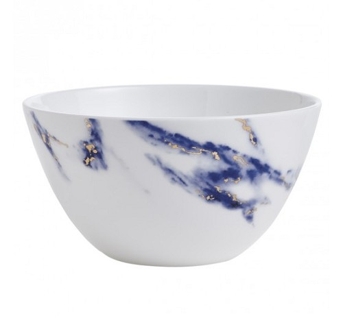 Prouna Marble Blue Azure  Cereal Bowl / All Purpose