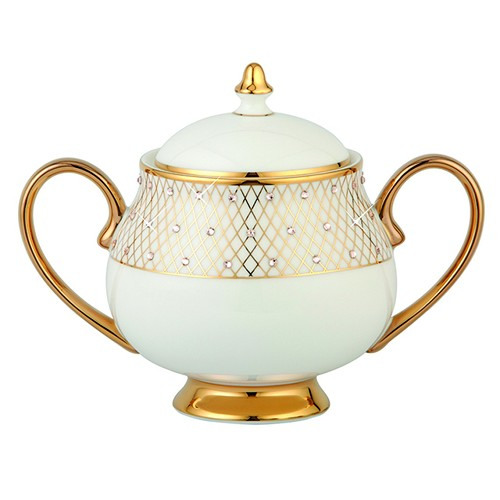 Prouna Princess Gold Sugar Bowl
