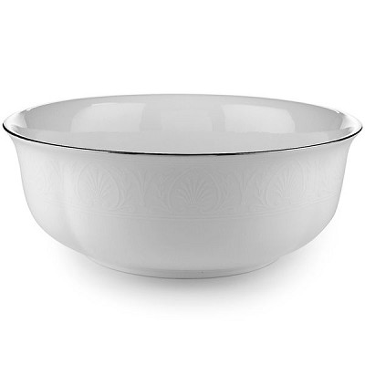 Lenox  HANNAH PLATINUM DW SERVING BOWL 8.5 d