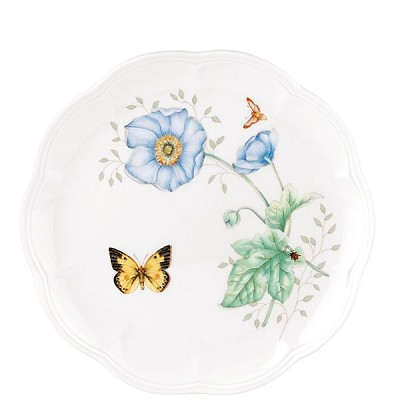 Lenox  BUTTERFLY MDW DW MONARCH ACCENT PL 9.0 d