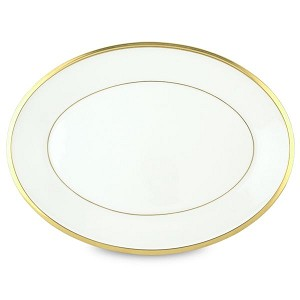 Lenox  ETERNAL WHITE DW OVAL PLATTER 13.0 13.0 l