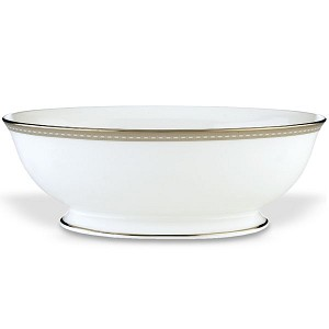 Lenox  MURRAY HILL DW OPEN VEGETABLE BOWL 9.5 d