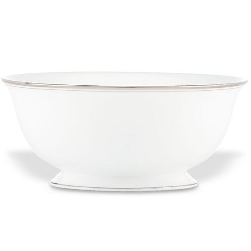 Kate Spade LIBRARY LANE PLATINUM DW SERVING BOWL