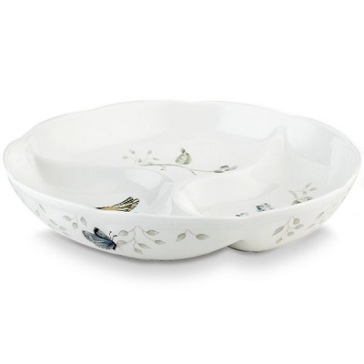 Lenox  BUTTERFLY MDW DW DIVIDED DISH 9.0 l