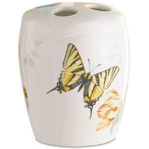Lenox  BUTTERFLY MEADOW TOOTHBRUSH HOLDER 4 h