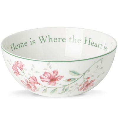 Lenox  BUTTERFLY MDW DW SENTIMENT BOWL 3 in h,7.25 d,38 oz