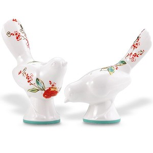 Lenox  CHIRP DW FIG SALT & PEPPER SET 3.75,4.25 h