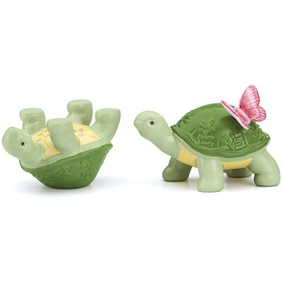 Lenox  BUTTERFLY MEADOW TURTLE SALT & PEPPER 2 h