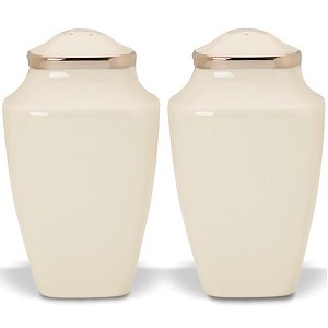Lenox  SOLITAIRE DW SQUARE SALT & PEPPER 3.75 h